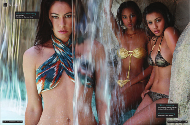 skinniemag tearsheet3s Skinnie Swimsuit Tearsheets and Photos (Fashion)