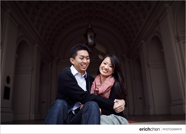 Old Town Pasadena Engagement Session and Kevin