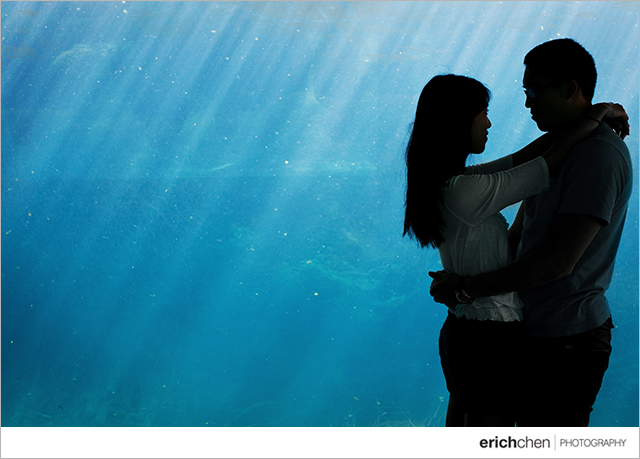 Long Beach Aquarium Harbor Engagement Session Photos Julie and Brian