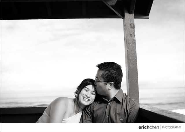 San Diego La Jolla Engagement Photos Jen and Kevin