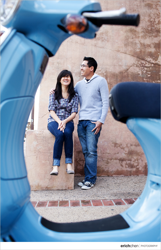 Downtown Fullerton Engagement Photos Sue and Gan